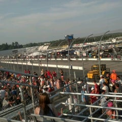 Photo taken at New Hampshire Motor Speedway by Alyson W. on 7/14/2012