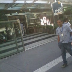 Photo taken at JNE Info Store by Diogenes A. on 10/7/2011