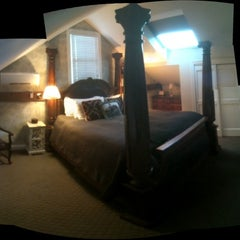 Photo taken at The Hartstone Inn by Joshua M. on 2/26/2012