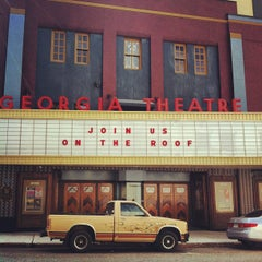 Photo taken at Georgia Theatre by Gabriela C. on 3/13/2012