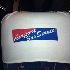 Photo taken at Airport Bus Service by Anatevka G. on 4/11/2012