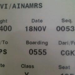 Photo taken at Garuda Indonesia Danareksa by Aina D. on 11/17/2011