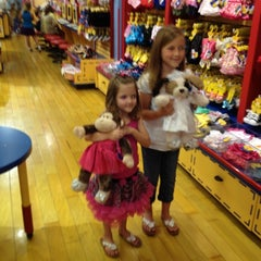 Photo taken at Build-A-Bear Workshop by Janine B. on 4/7/2012