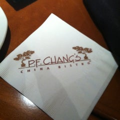 Photo taken at P.F. Chang's by Krista P. on 6/16/2012
