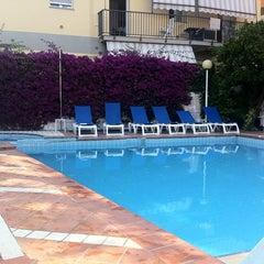 Photo taken at Hotel Torino Diano Marina by Alina G. on 7/5/2012