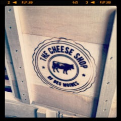 Photo taken at The Cheese Shop of Des Moines by Jennifer P. on 7/18/2012