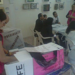 Photo taken at Centro Cultural Jesús Romero Flores by Pepe Y. on 6/23/2012