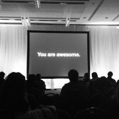 Photo taken at FITC Toronto by Casie S. on 4/25/2012