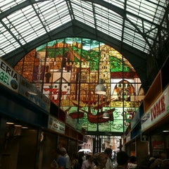 Photo taken at Mercado de Atarazanas by Gemma R. on 6/5/2012