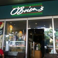 Photo taken at O'Briens Irish Sandwich Bar by WKS W. on 4/20/2012