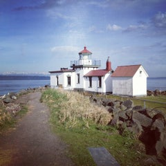 Photo taken at Discovery Park by Bertram M. on 4/22/2012