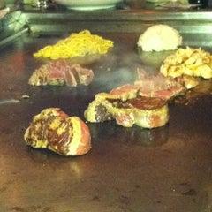 Photo taken at Kiku Hibachi Grill & Sushi Bar by Eva on 3/11/2012