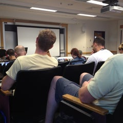 Photo taken at Enterprise Hall - George Mason University by Rishan C. on 6/21/2012