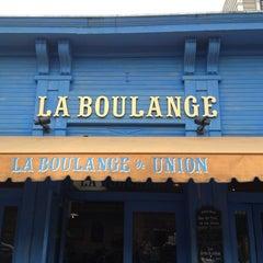 Photo taken at La Boulangerie de San Francisco by Wayne on 6/21/2012