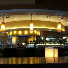Photo taken at California Pizza Kitchen by Rachel C. on 3/4/2012