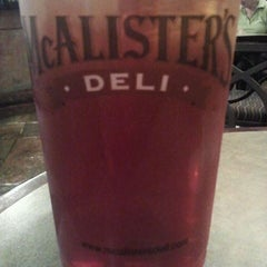 Photo taken at McAlister's Deli by John T. on 10/28/2011