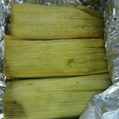 Photo taken at Tamales by La Casita by amy h. on 1/13/2012