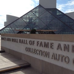 Photo taken at The Rock and Roll Hall of Fame and Museum by Pam H. on 8/12/2012