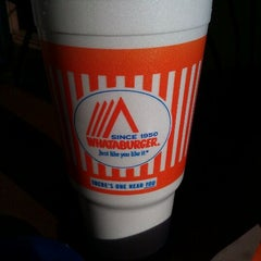 Photo taken at Whataburger by Clinton T. on 5/18/2012