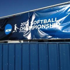 Photo taken at Rita Hillenbrand Memorial Stadium by Ben C. on 5/19/2012