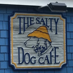 Photo taken at The Salty Dog Cafe by Hannah S. on 3/16/2011