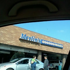 Photo taken at Merlin 200000 Miles Shop by Alex T. on 9/20/2011