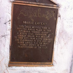 Photo taken at Tomb Of Marie Laveau by  ℋumorous on 8/25/2012