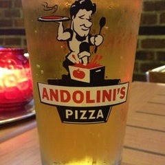 Photo taken at Andolini's Pizza by Tyler F. on 8/4/2012