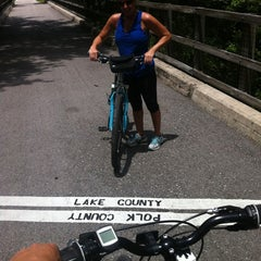 Photo taken at General James A. Van Fleet State Trail by Anthony H. on 4/29/2012