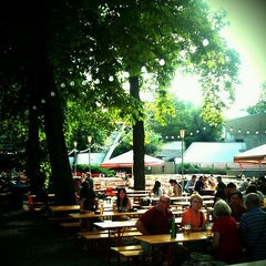 Photo taken at Pratergarten by kosmar k. on 9/4/2011