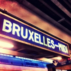 Photo taken at Gare de Bruxelles-Midi / Station Brussel-Zuid by Kristof Victor D. on 9/3/2012