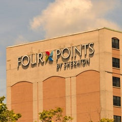 Photo taken at Four Points by Sheraton Kingston by Jason M. on 7/1/2011