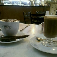 Photo taken at Fran's Café by Andre S. on 2/18/2012