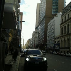 Photo taken at Avenida Corrientes by Langdof W. on 5/12/2012