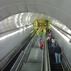 Photo taken at MARTA - Peachtree Center Station by Colin L. on 12/29/2011