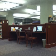 Photo taken at Morse Institute Library by Bruna G. on 10/5/2011