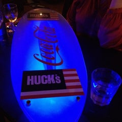 Photo taken at Huck's American Bar and Grill by Ian B. on 11/10/2011