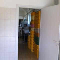 Photo taken at antico forno Equi Terme by giacomo b. on 9/16/2011