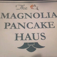 Photo taken at Magnolia Pancake Haus by Ryan L. on 10/15/2011