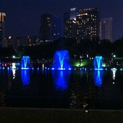 Photo taken at Kuala Lumpur City Centre (KLCC) Park by Charles J. L. on 9/1/2012