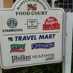 Photo taken at Maryland House Travel Plaza by Ching Y. on 10/9/2011