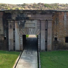 Photo taken at Fort Morgan State Historic Site by Emily S. on 8/26/2011
