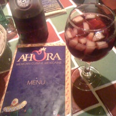 Photo taken at Ahora Mexican Cuisine by Miss B. on 9/13/2011