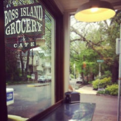 Photo taken at Ross Island Grocery & Cafe by Kendra M. on 4/26/2012