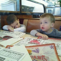 Photo taken at The Americana Diner by Rena K. on 1/29/2012