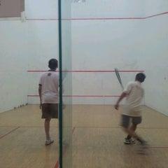 Photo taken at Squash Court @ Catholic High School by Jack T. on 9/14/2011