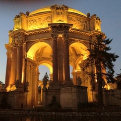 Photo taken at Palace of Fine Arts by Rudy M. on 1/7/2012