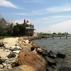 Photo taken at Westhampton Yacht Squadron by Gina S. on 7/4/2012