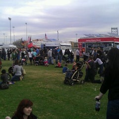 Photo taken at Street Eats Food Truck Festival by Francisco L. on 1/14/2012