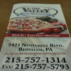 Photo taken at The Valley Pizza Restaurant by Jon P. on 7/7/2011